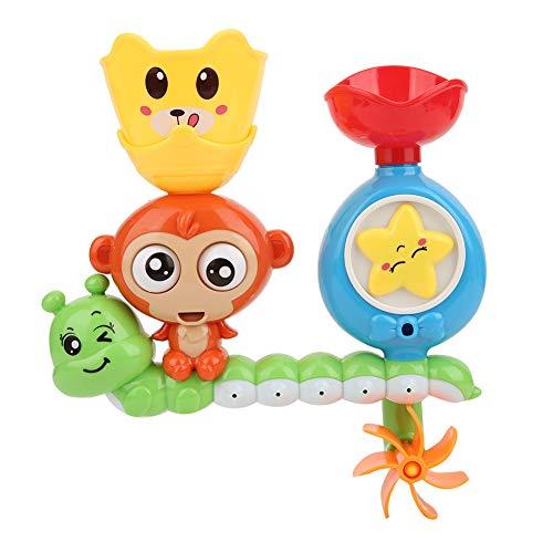 Juguete de baño para bebés, juguetes de bañera, cascada, estación de agua, castillo con tazas apilables, juego de baño de ducha para bebés y niños pequeños(Otro)