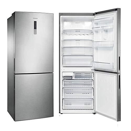 Geladeira Samsung Frost Free Inverse 435 Litros Inox 110V RL4353RBASL/AZ
