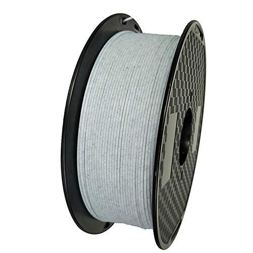 1/0.5/0.25KG Marble Filament, 1.75mm 3D Printer Filament Stone Like Material, 3D Printing Temperature 240-260 Degrees,3D Printing Materials Supply (Size : PETG Marble 1kg)