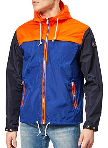 Polo Ralph Lauren Men's Lightweight Packable Colorblock Jacket (Small)