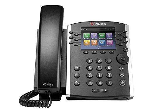 Polycom VVX 401 2200-48400-025 12-line Business Media Phone - AC Adapter Not Included