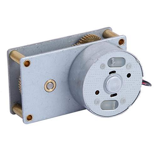 27 RPM, 3-12 V, reducción de velocidad, CC reversible, para dispositivos inteligentes para máquinas de cortinas para equipos publicitarios