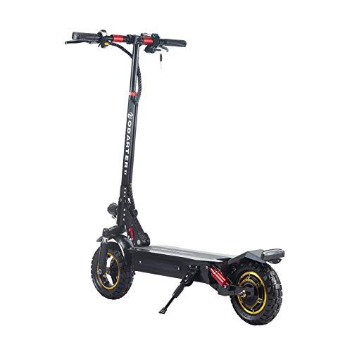 Scooter eléctrico plegable,1000W patinete eléctrico de una sola impulsión de 10 pulgadas...