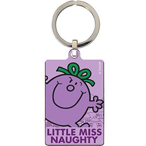 Little Miss Naughty - Llavero (Tamaño Único) (Púrpura)