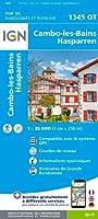 Cambo-les-Bains 1:25 000