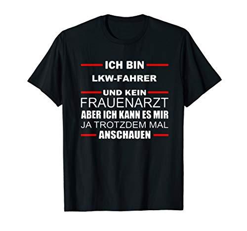 Lkw Fahrer Shirt Arbeitskleidung Geschenk Weihnachten T-Shirt