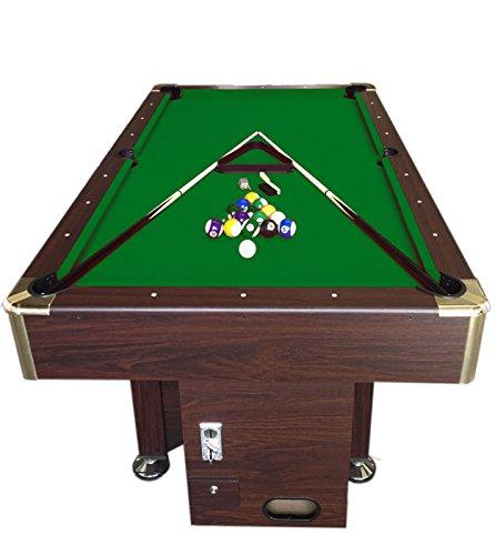 Mesa de billar juegos de billar pool 7 ft Modelo APOLLO Verde ...