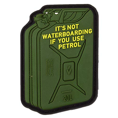 Jackets To Go JTG Not for Everybody Petrol Waterboarding, 3D Rubber Patch
