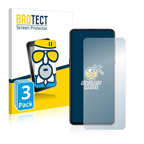 BROTECT Entspiegelungs-Panzerglasfolie kompatibel mit Xiaomi Mi Mix 3 5G (3 Stück) - Anti-Reflex Panzerglas Schutz-Folie Matt