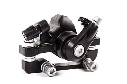 Bremssattel mit Belägen und Adapter für Scheibenbremse Disc mechanisch hinten 160mm