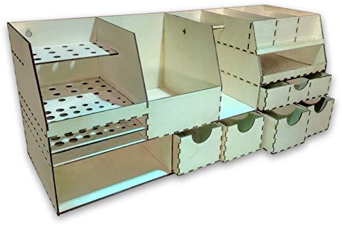 Zaton Tool Organizer ( Kleine Tisch Werkbank, Benchtop Organizer, Workbench, Werkzeugspeicher )