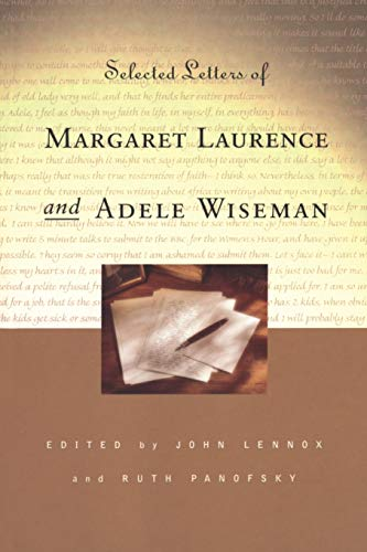 Selected Letters of Margaret Laurence and Adele Wiseman (Heritage)