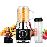Personal Smoothies Blender, Portable Mini Blenders For Shakes And Smoothies ,Single Serve Smoothies,Single Smoothies Maker With 20oz Travel &Lids