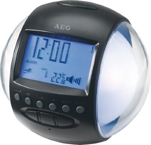 AEG MRC 4117 Radiowecker (UKW-Tuner,2 Weckzeiten) weiß