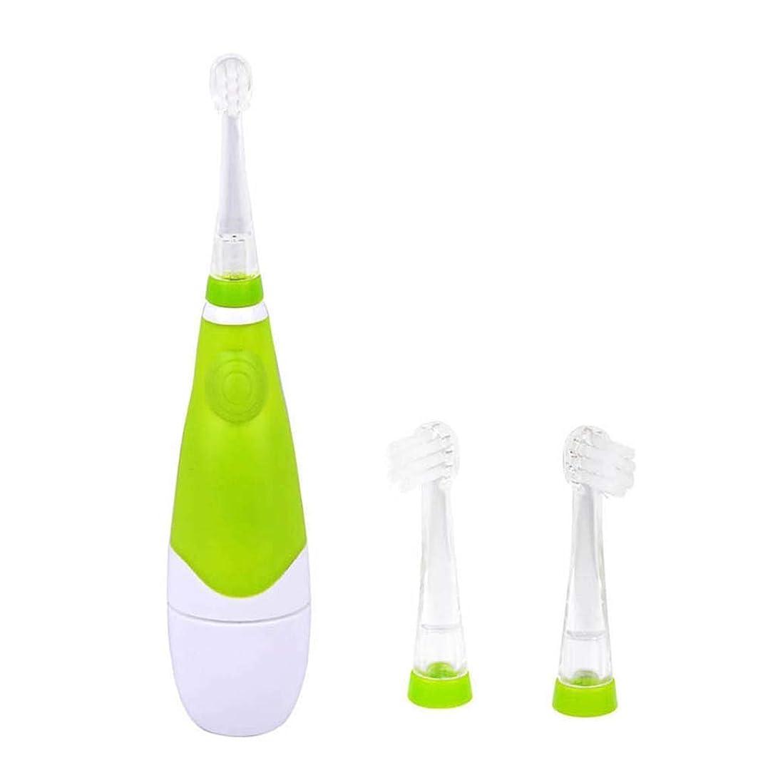 銛クラックビット電動歯ブラシスマート防水電動歯ブラシ音波電池電子歯ブラシ子供