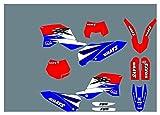 Fyjhunann Protector de gráficos de Motocicletas Fondos de calcomanías Pegatinas Kits para Husqvarna Sherco SE 250 Enduro 2012 hnfyj