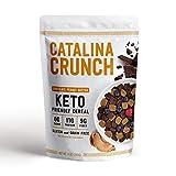 Catalina Crunch Chocolate Peanut Butter Keto Cereal: Keto Friendly, Low Carb, Zero Sugar, Plant Protein, High Fiber, Gluten & Grain Free