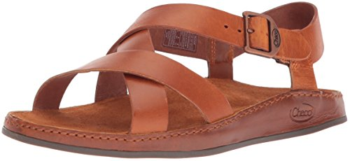 Chaco Women's Wayfarer Sandal, Rust, 7 Medium US