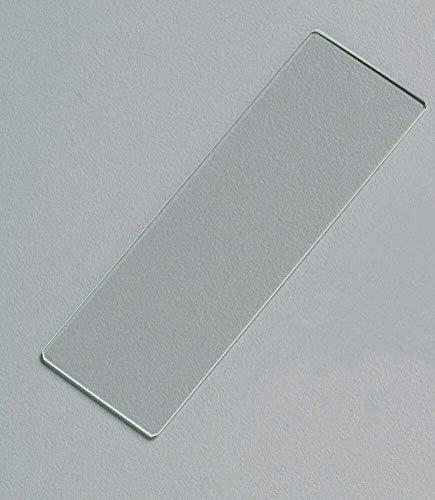 MediChoice Microscope Slides, Plain, 25 mm x 75 mm x 1 mm (Box of 72)