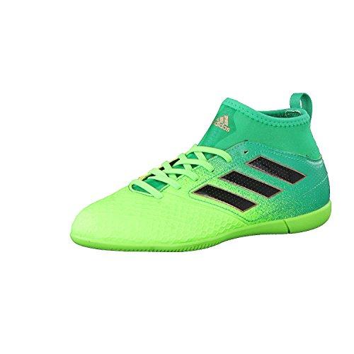 adidas Ace 17.3 IN J - Botas de fútbolpara niños, Verde - (Versol/Negbas/VERBAS), -4