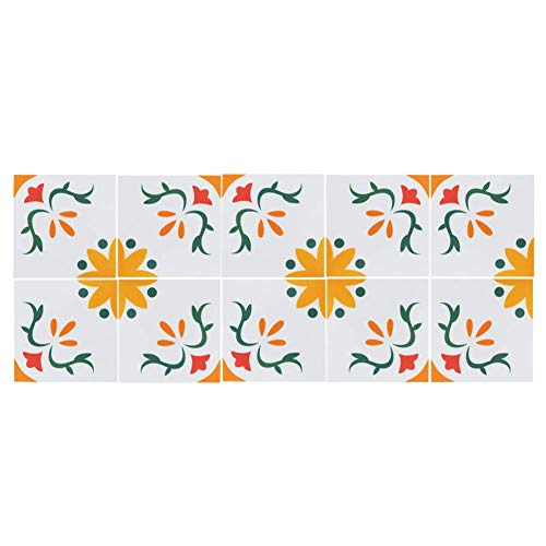 10 piezas autoadhesivas azulejos adhesivos antideslizante pared piso suelo pegatina para baño cocina