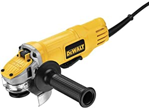 DEWALT Angle Grinder Tool, 4-1/2-Inch, Paddle Switch with No-Lock On (DWE4120N),Yellow,Small