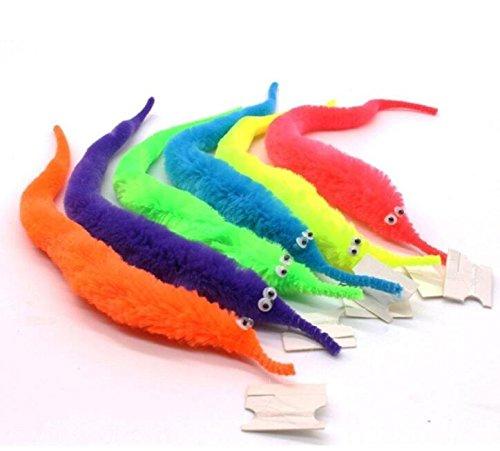 Peino Magic Vivid Wiggly Twisty Fuzzy - Gusano para carnaval, fiesta, regalos, juguetes