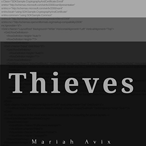 Thieves audiobook cover art