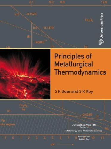 Principles of Metallurgical Thermodynamics (Universities Press-iim Series in Metallurgy and Materials Science)