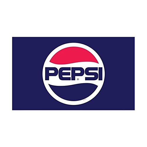 CafePress Pepsi 90S Logo Rectangle Bumper Sticker Car Decal