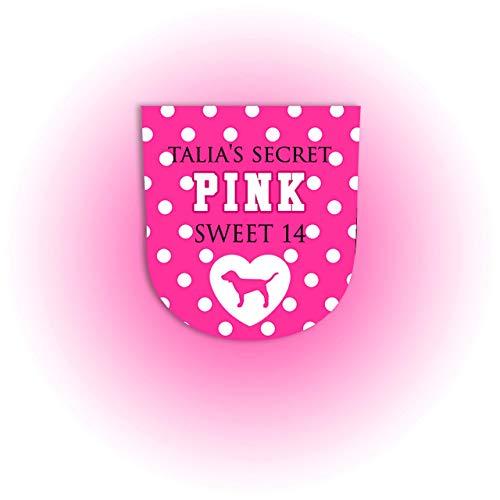 Set of 10 VS Pink BBW Sanitizer Labels