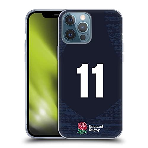 Head Case Designs Officially Licensed England Rugby Union Posición 11 2020/21 Players Away Kit Carcasa de Gel de Silicona Compatible con Apple iPhone 13 Pro MAX