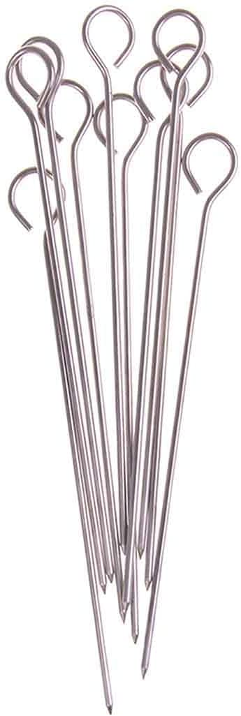 XYSQWZ 10Pcs Outdoor Ranking TOP10 Camping Minneapolis Mall Picnic Goose Meat Skewe Roast Round