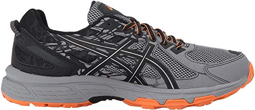 ASICS Men's Gel-Venture 6 Running Shoe, Frost Grey/Phantom/Black, 10.5 4E US