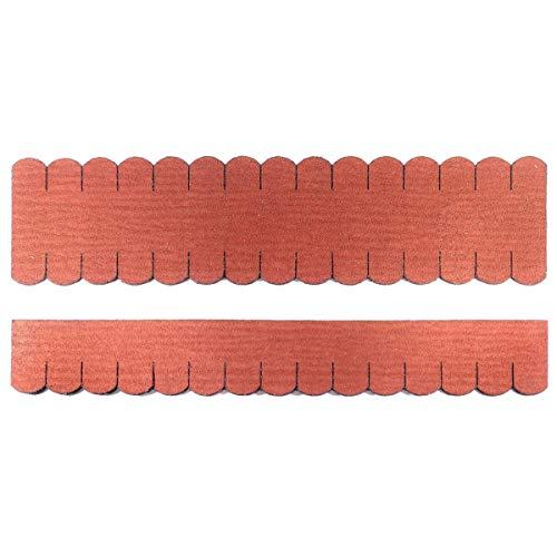 Martinshof Rothenburg Diakoniewerk Mini Dachschindeln Biberschwanz (33 mm) - 2X Set - Rot 23.408 Dachschindel