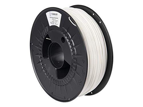 TECHNOLOGYOUTLET Premium 3D Printer Filament 1.75MM PLA Polar White