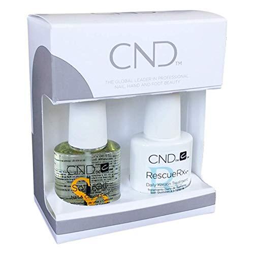 CND RescueRXx & Solar Oil Kit Nagel Reparatur & Pflege Set