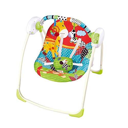 Cadeira de Descanso Automática para Bebê 11kg - Swing Verde - Star Baby