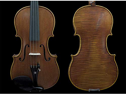 Sky Guarantee Mastero Sound Copy of Stradivarius 4/4 Size Professional Hand-made 4/4 Full Size Acoustic Violin Antique Style Ebony Parts TOP QUALITY