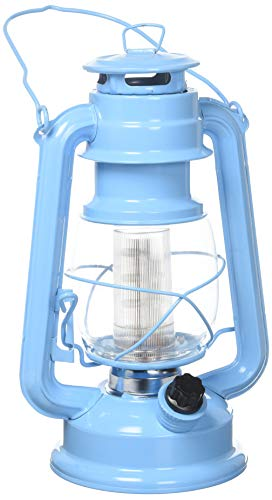 Northpoint 190614 Vintage Style Horizon Haze Hurricane 12 LED#039s and 150 Lumen Light Output and Dimmer Switch Battery Operated Hanging Lantern for Indoors and Outdoor Usage Piece