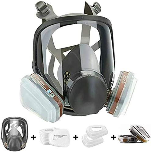 15 in1 Full National uniform free shipping Face NEW before selling ☆ Large Size Respirator Widely O Reusable in Used