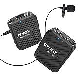 SYNCO G1(A1) 2.4GHz Sistema Micrófono-Inalámbrico-Reflex-S