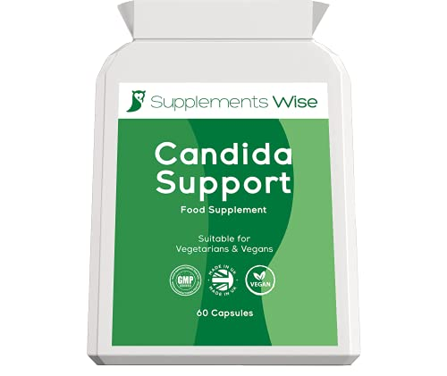 Candida Support Capsules (60) - Yeast Infection Treatment for Women and Men...