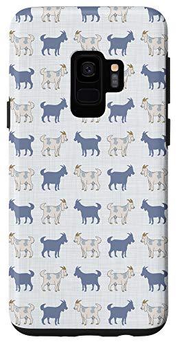 Galaxy S9 Cute Goats Pattern Case