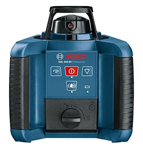 Bosch Professional 0601061600 Bosch GRL 250 HV Professional-Nivelador láser (60 h, 1.8 kg) Azul