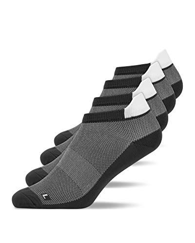 Snocks Laufsocken Herren Grau Größe 47-50 4X Paar Laufsocken Herren 47-50 Sportsocken Herren 47-50 Running Socks Sport Socken Sportsocken Kurz