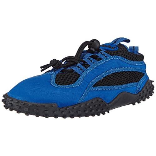 Playshoes Calzature da Surf con Protezione UV, Scarpe da Acqua Unisex-Adulto, Blu Blau 7, 36 EU