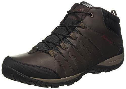 Columbia Woodburn II Chukka Waterproof Omni-Heat, Zapatos Hombre, Marrón (Cordovan, Garnet Red), 41 EU