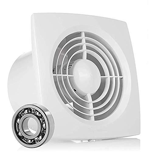 Ventilador Extractor en Línea, Ø150mm Extractor de Aire Ultra Silencioso con Ventilación Eficiente, para Cocina, Baño, Dormitorio y Oficina