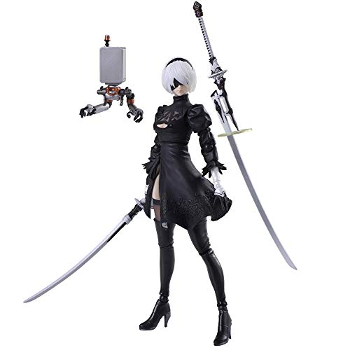 Square Enix NieR Automata Bring Arts Action Figure Yorha No.2 Type B Version 2.0 14 cm
